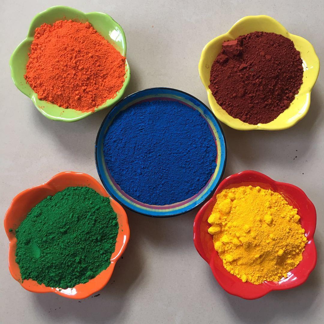HONGJUN Bột màu vô cơ Màu công nghiệp GB sắt oxit sắc tố Chất độn sắc tố vô cơ Màu gạch xi măng sơn
