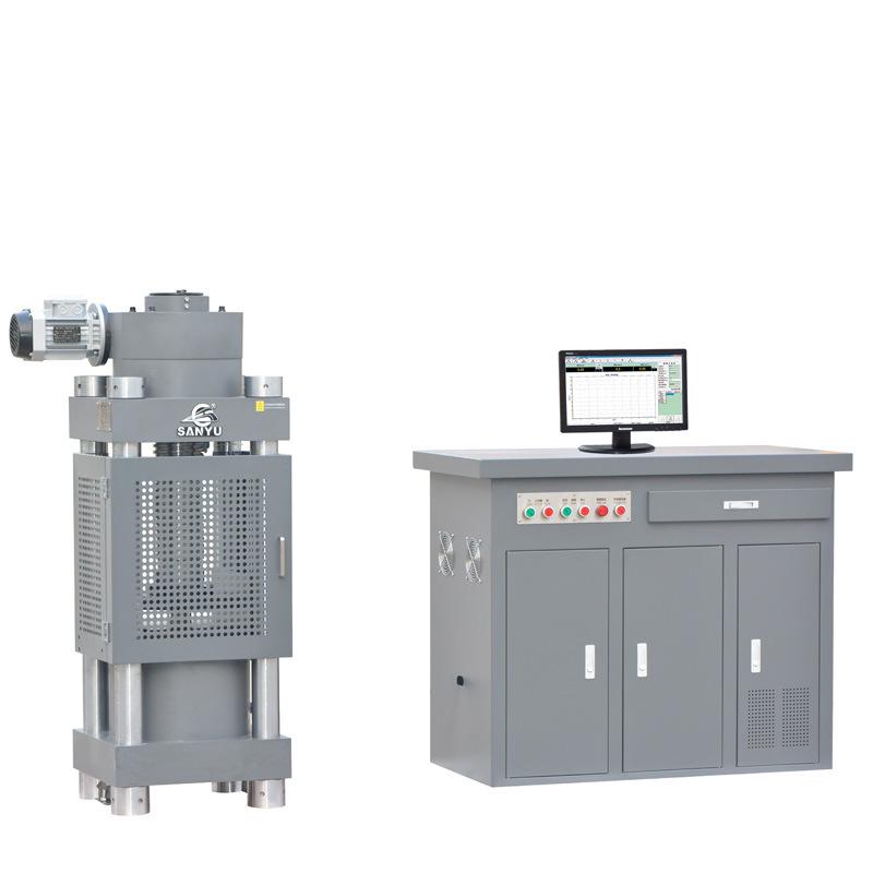 Máy thí nghiệm áp suất servo thủy lực HYE-2000