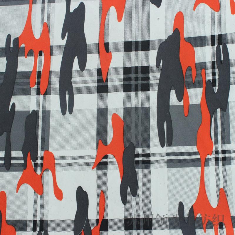 LINGTOUYANG Vải Chiffon & Printing Nhà sản xuất cung cấp vải chống thấm in vải nhuộm ngụy trang Vải