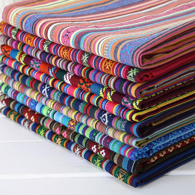 Rongcheng Vải Yarn dyed / Vải thun có hoa văn Dệt   Nhà máy Trực tiếp Quốc gia Gió Vải Gối Trường hợ