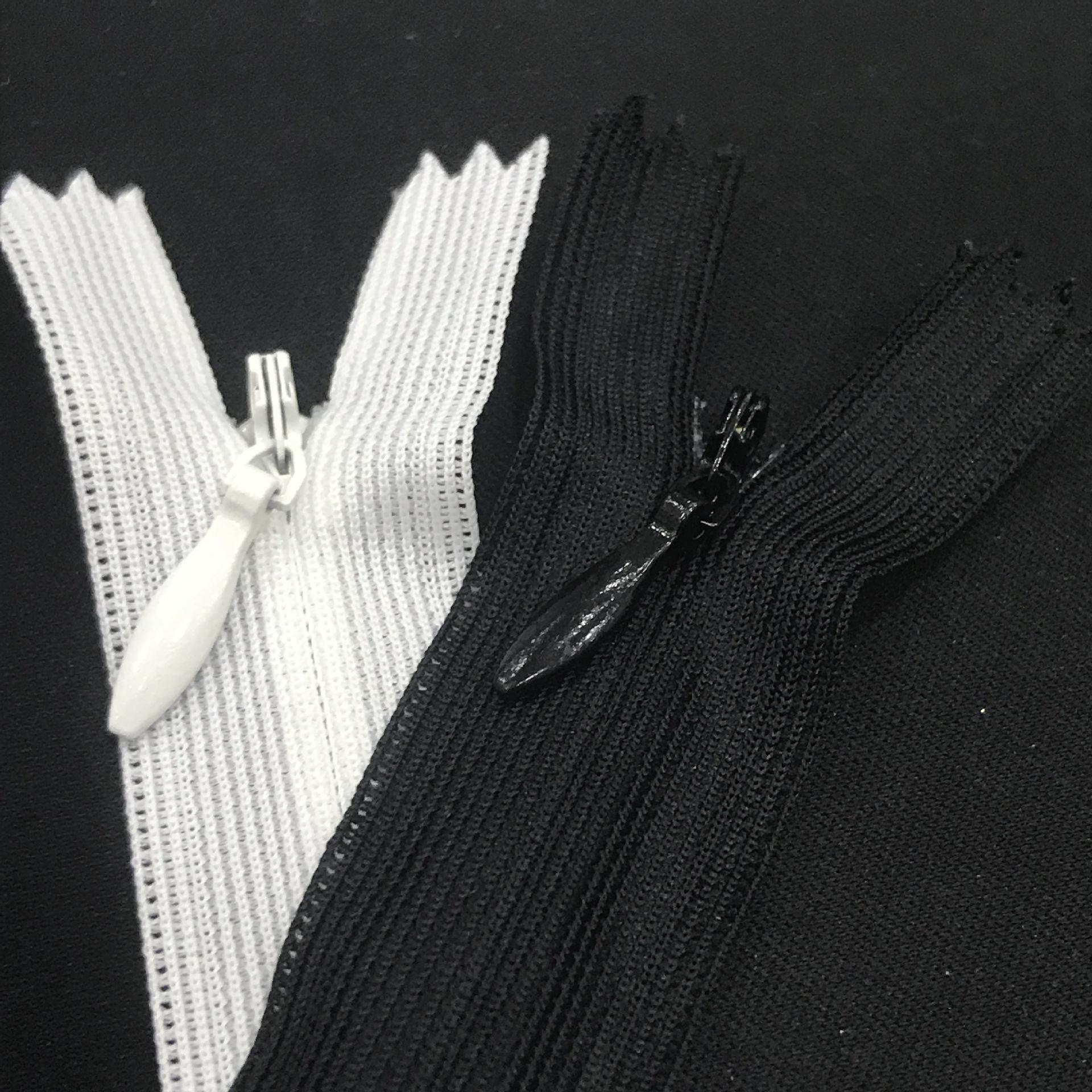 SBS Dây kéo Nylon Nhà máy trực tiếp sbs dây kéo 3 vô hình dây kéo đóng cửa nylon nylon gối quần áo v