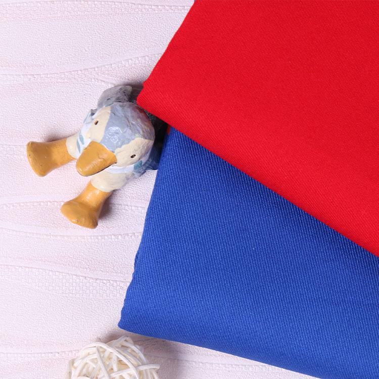 Vải twill cotton 21s 180gsm vải mùa thu phù hợp với áo sơ mi quần áo vải tại chỗ