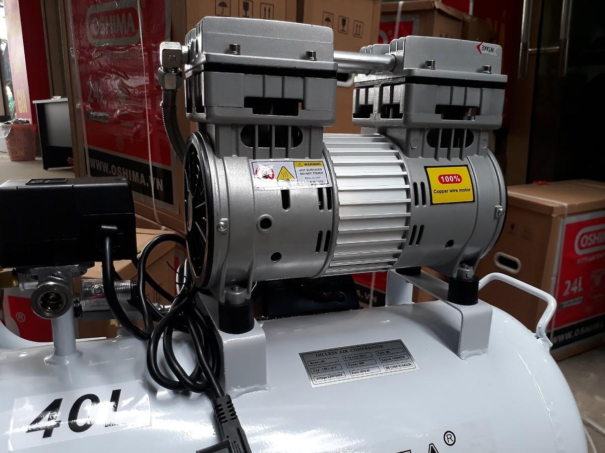 Máy nén khí Oshima 40L không dầu