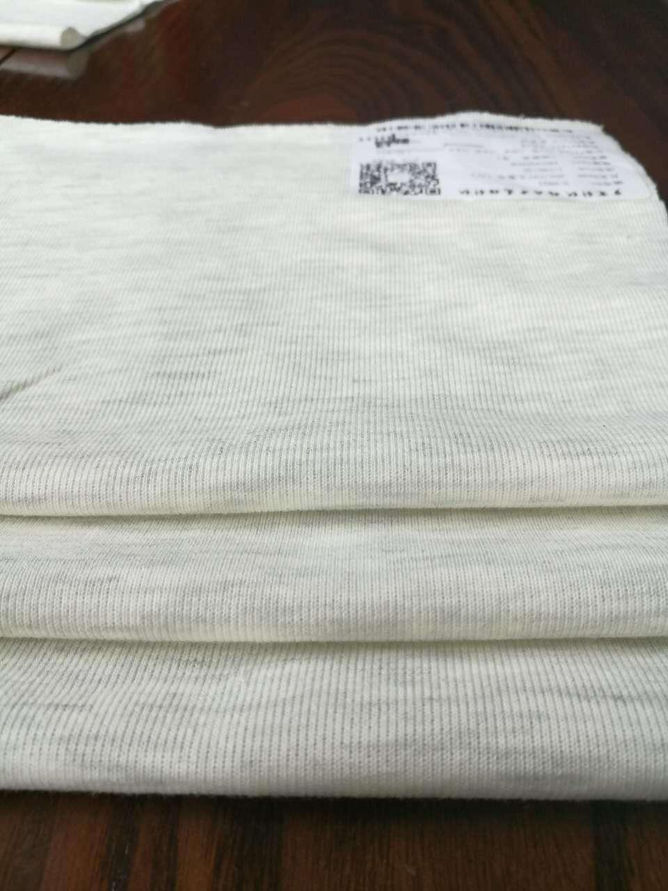 SUIHAN Vải French Terry (Vấy cá) Hemp xám 40 chải nhỏ nhà sản xuất vải terry trong kho Tack cotton đ