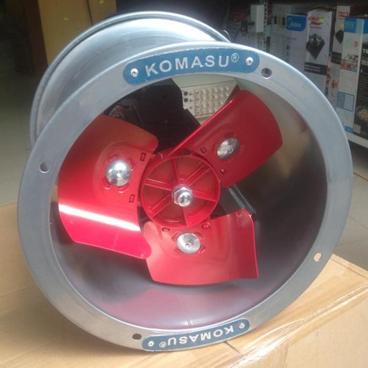 Quạt thông gió Komasu khung tròn KM25T
