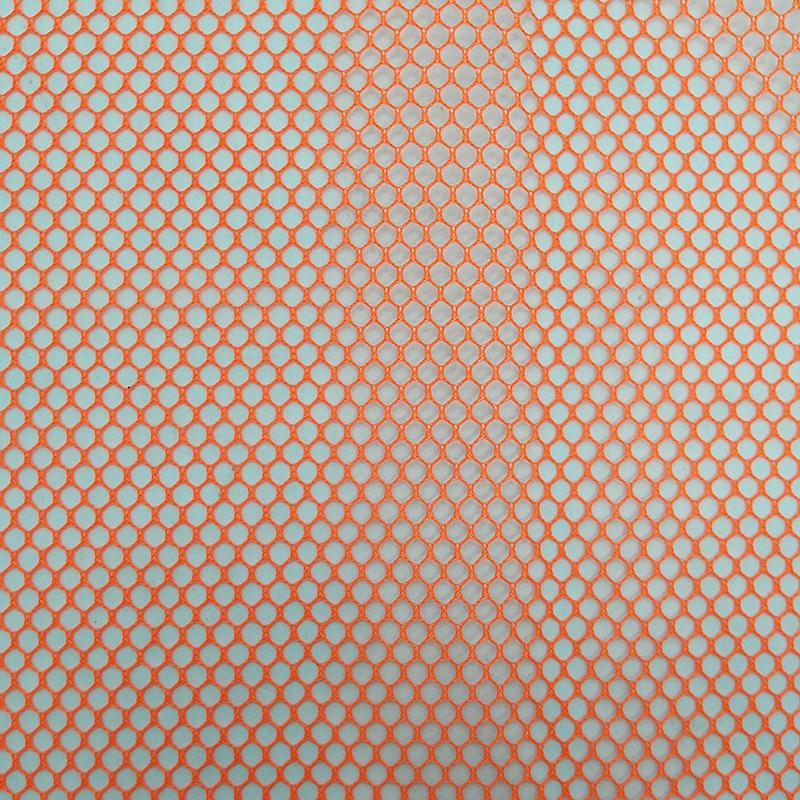 XS Vải lưới Tại chỗ vải lưới hình lục giác màu cam 1.55m túi giặt lưới áo lót vải nhà máy bán hàng t