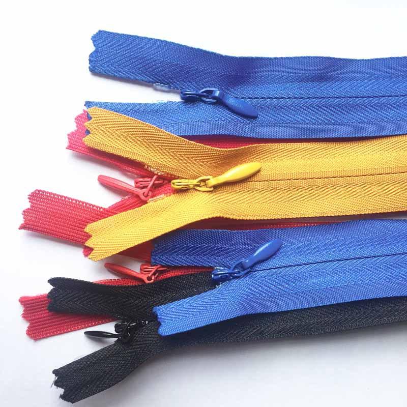 SL Thị trường phụ kiện Quần áo váy cưới túi áo khoác có khóa kéo nylon vô hình thứ 3 Đồ chơi nhà dệt