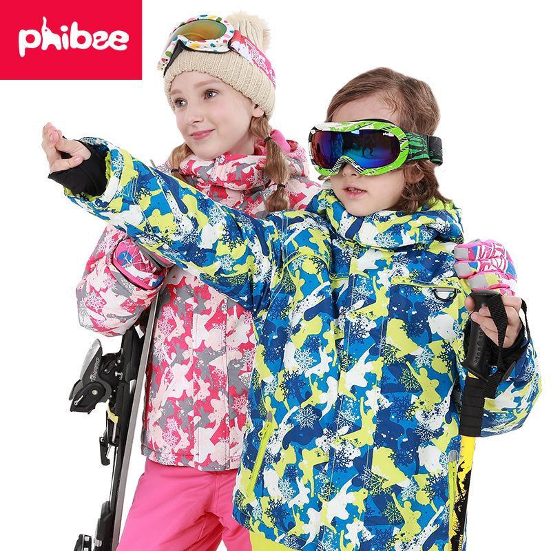 Bộ đồ trượt tuyết Phibee dành cho bé gái .