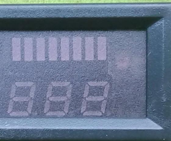 Đồng hồ đo điện Đồng hồ đo dung lượng pin có hiển thị Vol