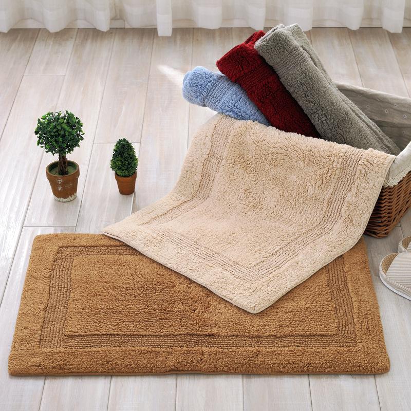 XIAOAI Đệm chân Hiện đại đơn giản chenille bông thảm sàn nhà bếp phòng khách phòng ngủ thảm sàn thảm