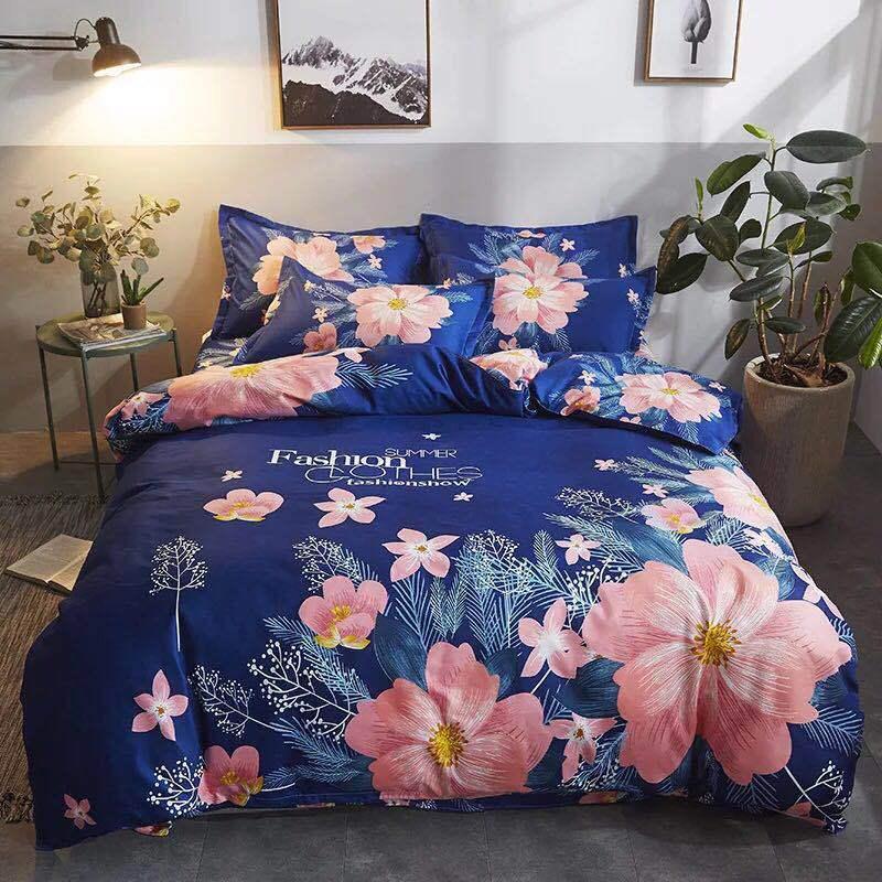 Bộ drap giường vải, pha trộn polyester-cotton