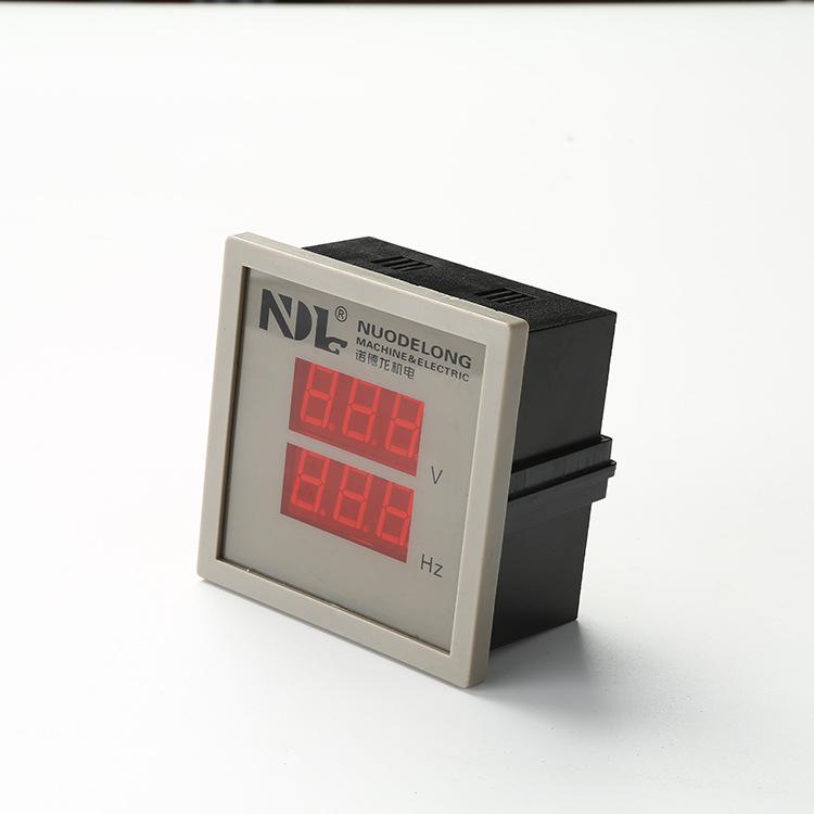 Dụng cụ đo điện áp Kỹ thuật số hai màu ba chữ số .