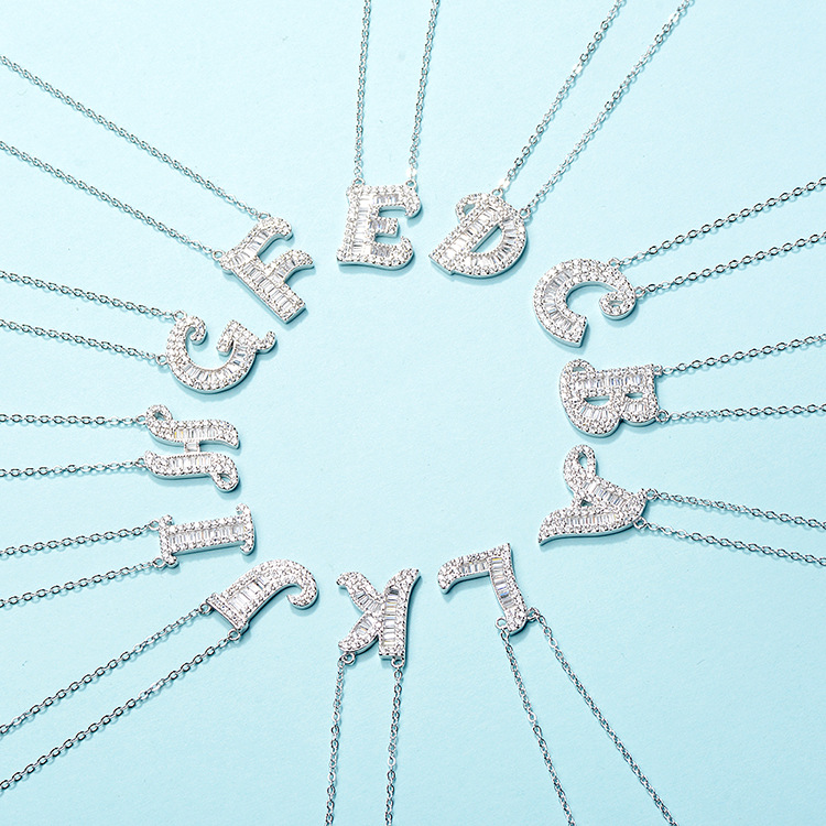 CHENGTENG Phụ kiện thời trang Họ vòng cổ thư s925 bạc của vợ du lịch lãng mạn với vòng cổ thư trang