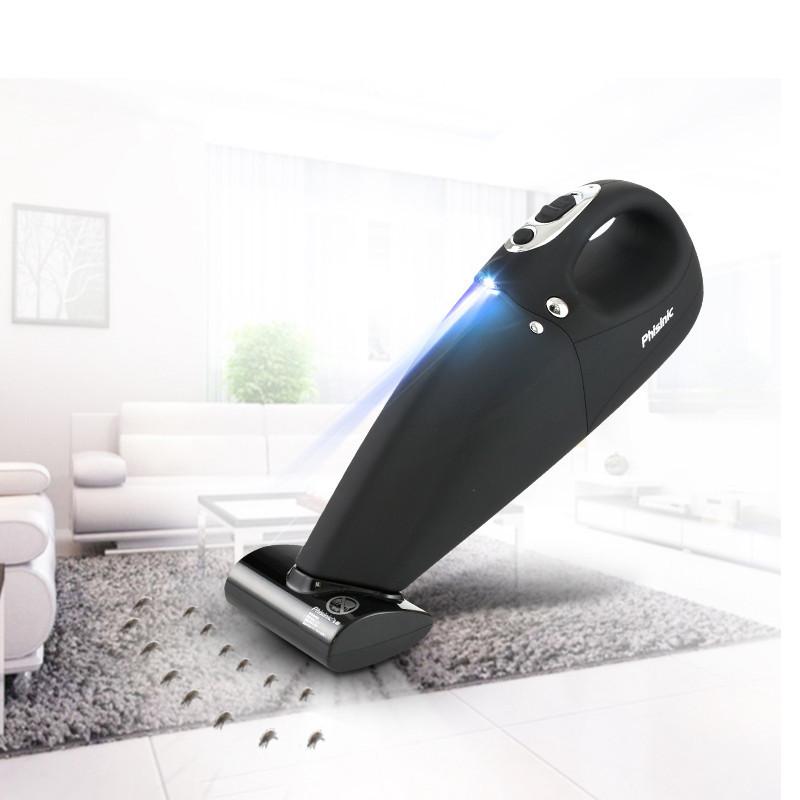 PHISINIC Đồ điện gia dụng máy hút bụi cầm tay nhỏ, sạc không dây