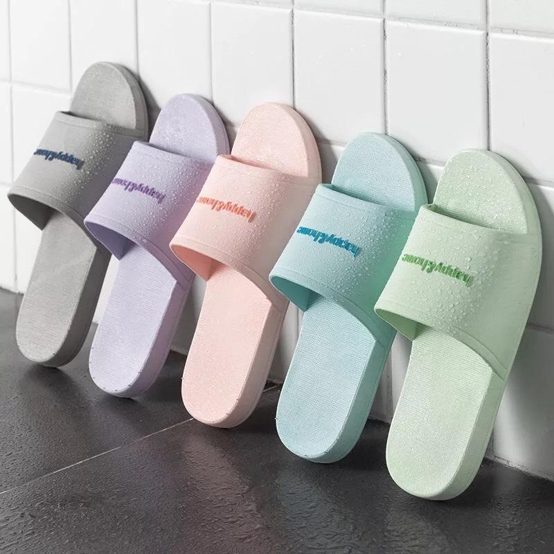 Giầy dép 2019 mới dép đi trong nhà nữ trong nhà phòng tắm gia đình những người yêu thích dép và dép