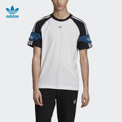 áo thun  Adidas Adidas chính thức Adidas clover SPRT FB TEE áo sơ mi nam ngắn tay FK1976 FK1977