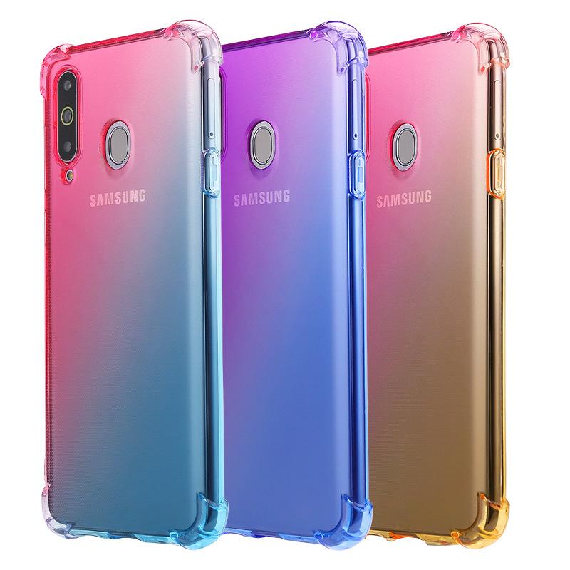 DS&mate Cửa hàng phụ kiện chất lượng cao Vỏ điện thoại di động Samsung A20 chống rơi A10 Vỏ túi khí
