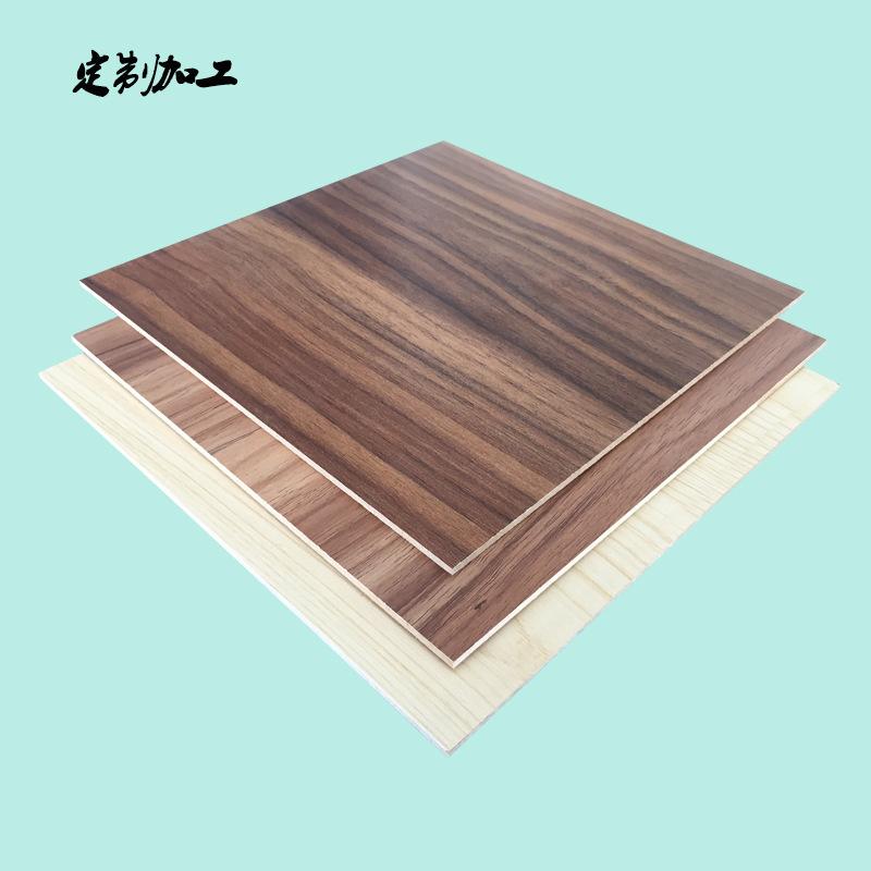 DONGNAN Ván gỗ Bán chạy nhất 3 mm gỗ vân gỗ miễn phí tấm melamine veneer cắt chế biến MDF tùy chỉnh