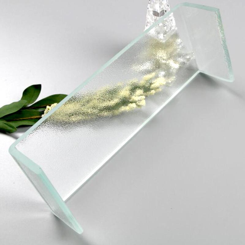 SHAHE thuỷ tinh Chuyên sản xuất kính ngọc bích hình chữ U tùy chỉnh Độ bền cao chịu nhiệt độ cao bên