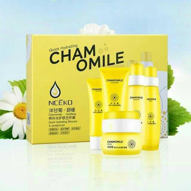 NCEKO bộ sản phẩm Liyan gia đình nước hoa cúc sữa nhạy cảm sản phẩm chăm sóc da đặc biệt dành cho nữ