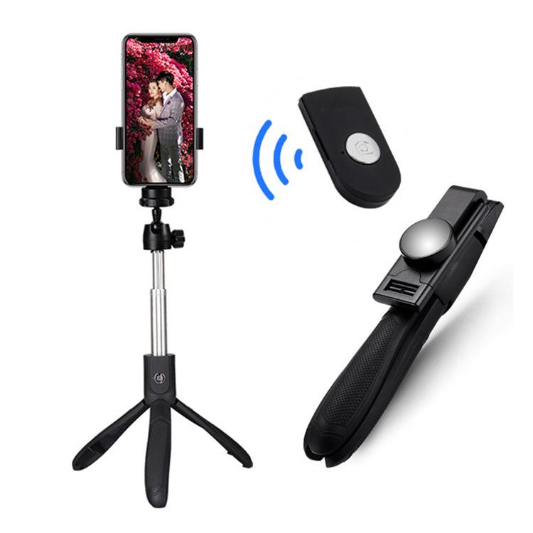PAIAIPU Gây tự sướng K05 Bluetooth Selfie Stick Remote Chân máy cao cấp K06 Mobile Universal Live Ca