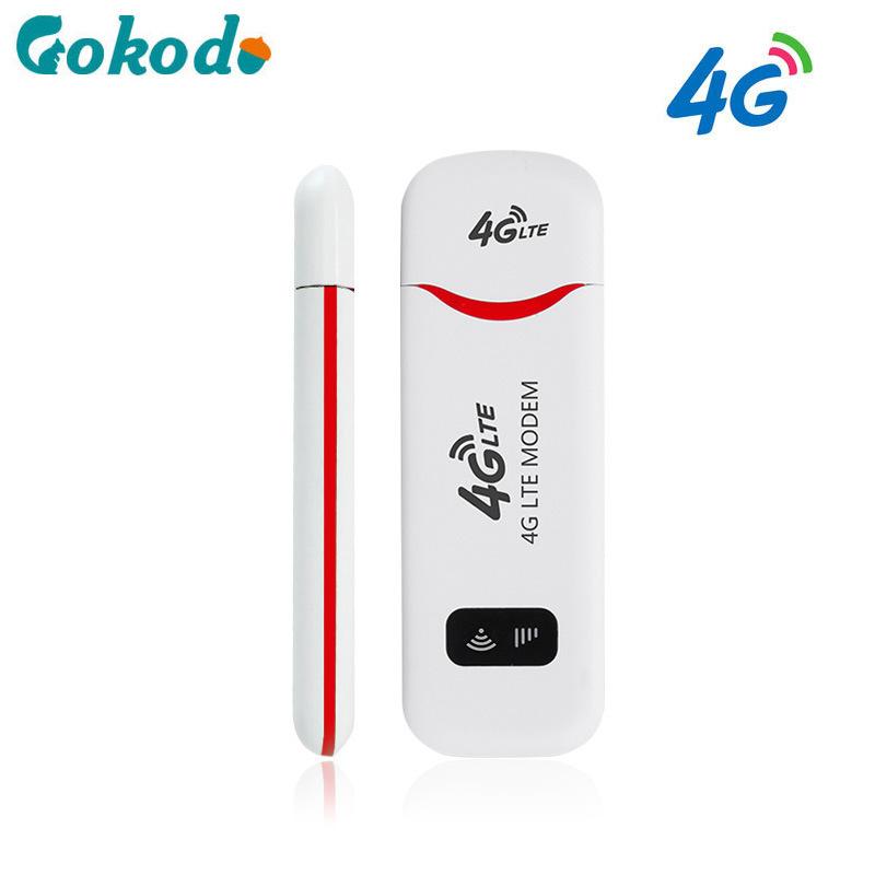 GUOKEDAO Card mạng 3G/4G Unicom Telecom 4g bộ định tuyến wifi không dây di động 100M USB card mạng k