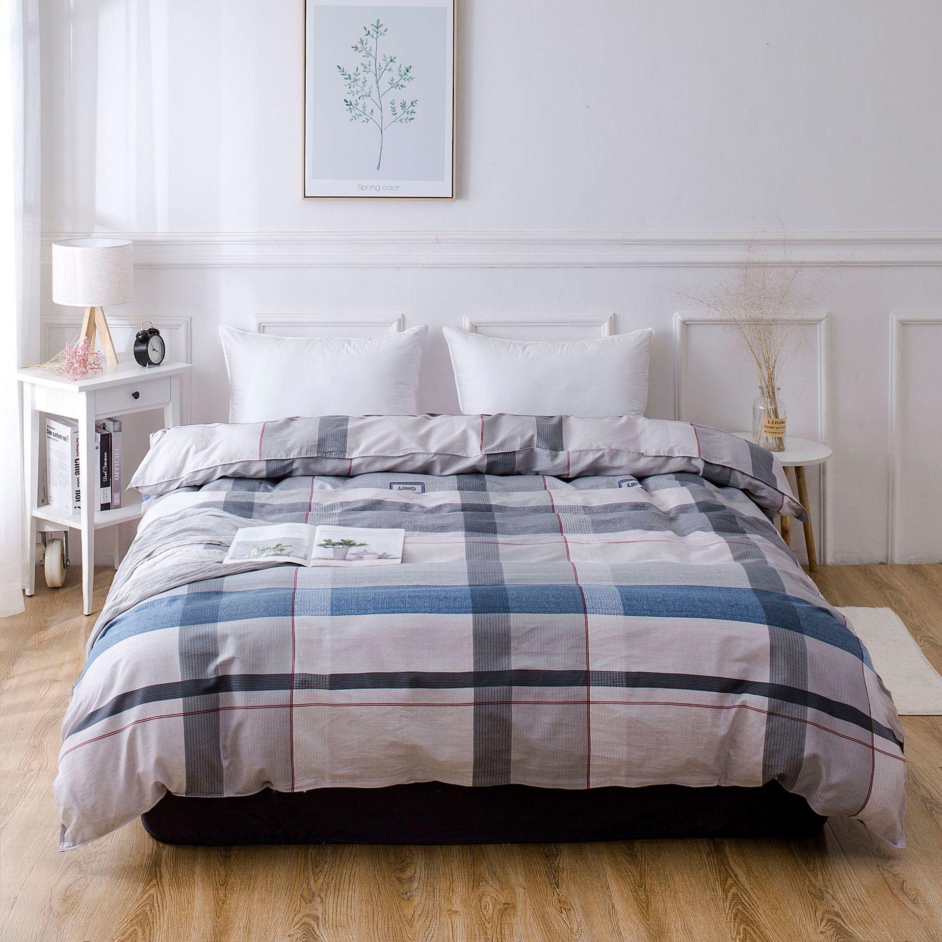 YULING drap mền Chăn bông đơn mảnh 200 * 230CM chăn bông 150 * 200 bộ đồ giường