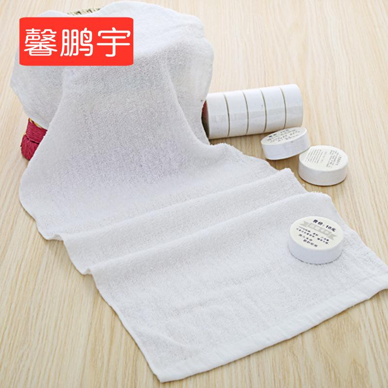 XINPENGYU Khăn nén Nhà sản xuất khăn nén bán buôn bông nén dùng một lần khăn tùy chỉnh logo khăn nén