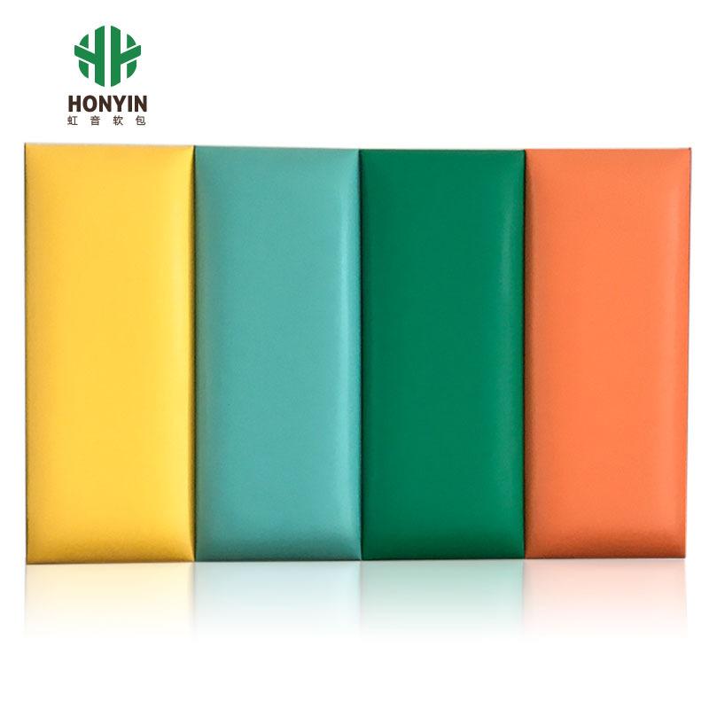 HONGYIN Vải ốp tường Bảo vệ môi trường tùy chỉnh phòng trẻ em túi mềm treo tường trường mẫu giáo Tae