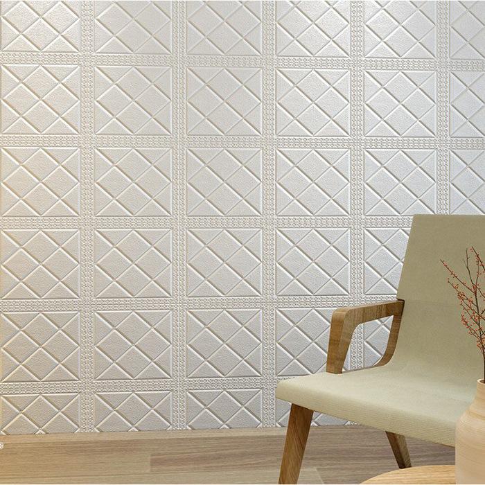 AOTESI Vải ốp tường Tự dính giấy dán tường TV nền tường mềm gói trang trí phòng khách trần phòng ngủ