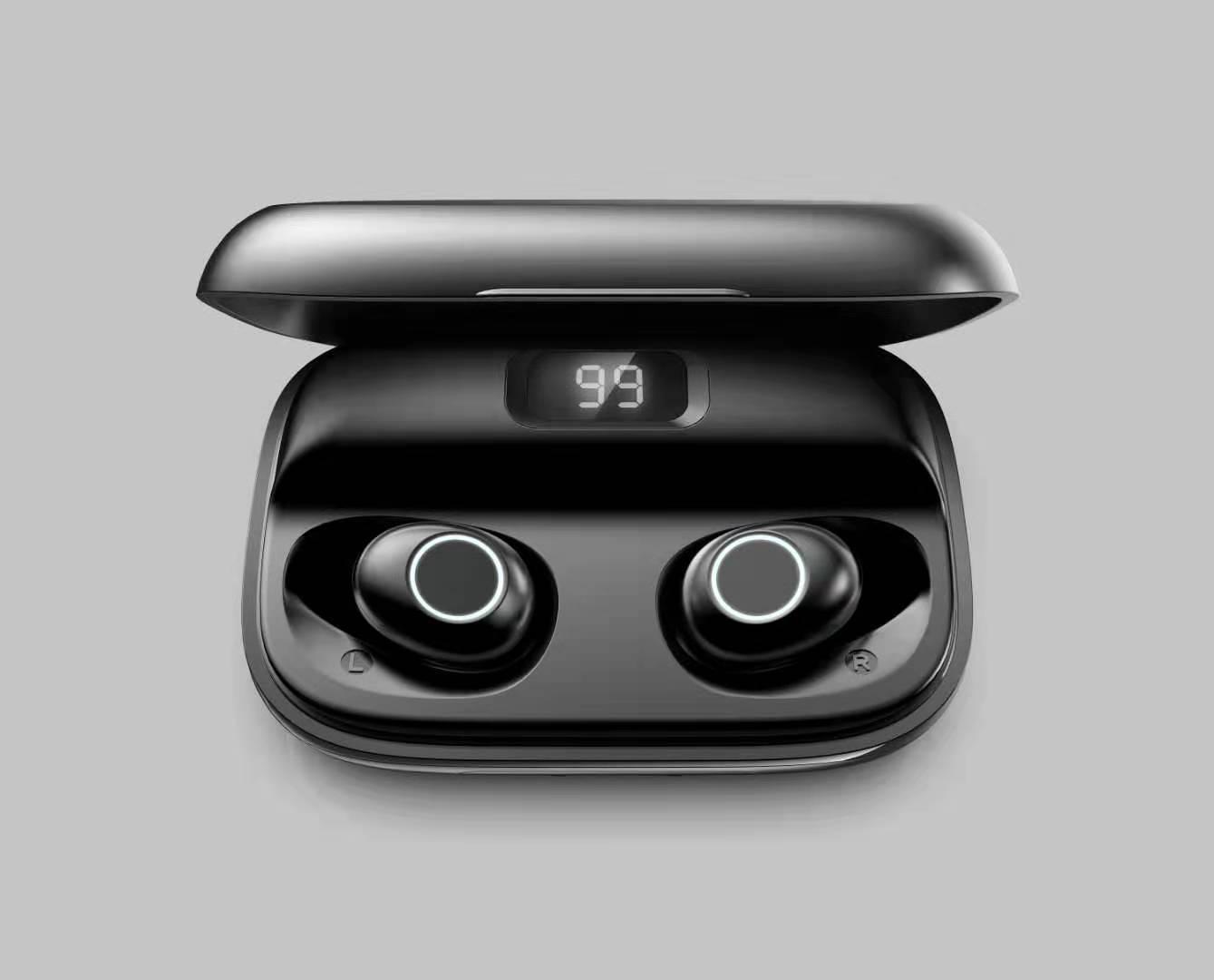 Tai nghe Bluetooth thể thao không dây Màn hình kỹ thuật số T10 tws
