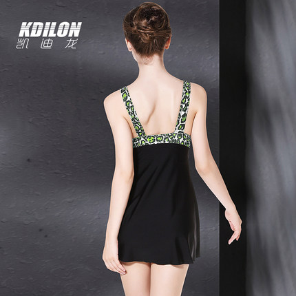 chống thấm nước  kdilon Kaidilong kỳ nghỉ áo tắm nữ cảm giác suối nước nóng tập hợp váy lớn phong cá