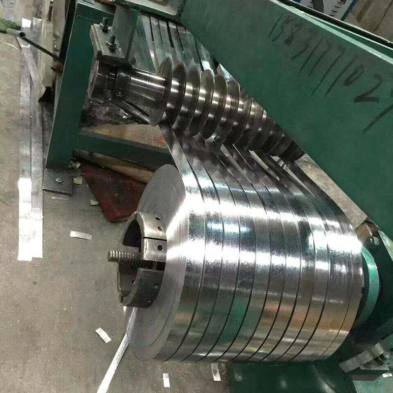 ZHAYI Tôn cuộn Tại chỗ ống thép kim loại dự ứng lực dải thép mạ kẽm đen 0,25mm