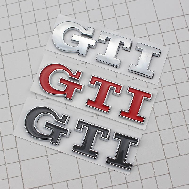 KLJ Đề can xe hơi Nhãn dán xe đã được sửa đổi của Volkswagen Golf 6 sagitar mới Jetta GTI sửa đổi co