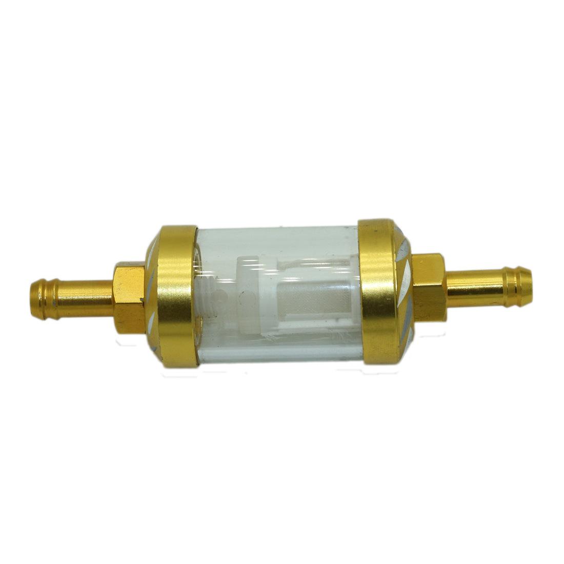 Bộ lọc xe máy CNC trong suốt ống lọc nhiên liệu xe máy