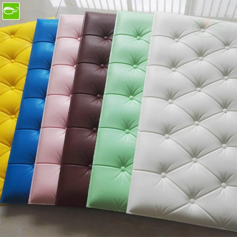 Vải ốp tường Tự dán tường mềm mại xung quanh tường phòng khách dán tường 3d trang trí phòng ngủ cạnh