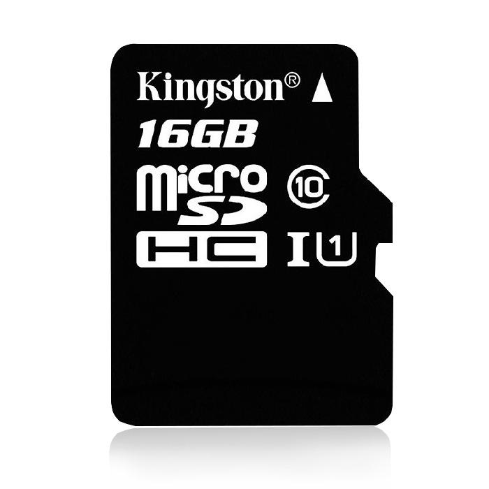 Thẻ nhớ TF (micro-SD) lưu trữ tốc độ cao Dung lượng: 16GB, 32GB