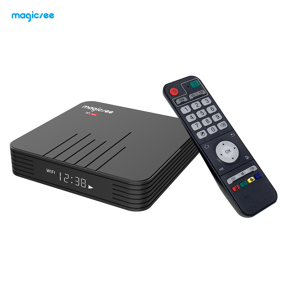 Thiết bị kết nối Internet cho TV Hộp mạng HD S905X2 Android 9.0 N5 max set set-box box 4GB / 32GB