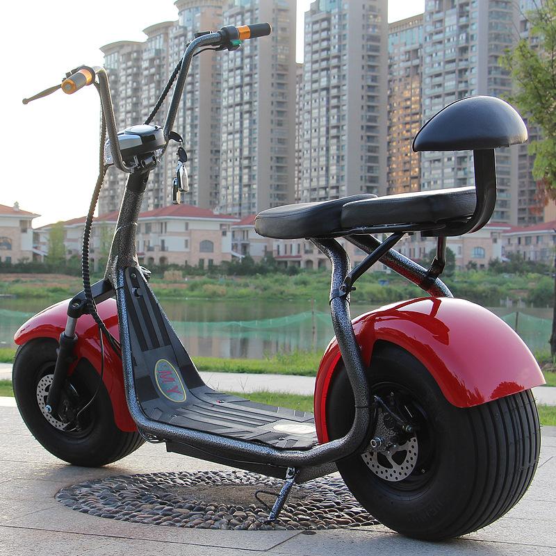 MINYU xe môtô / xe máy Xe điện Harley 60V dành cho người lớn pin chống trộm xe tay ga đôi bước lithi