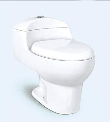 REAWO - Bồn cầu Nhà vệ sinh một mảnh Siphon .