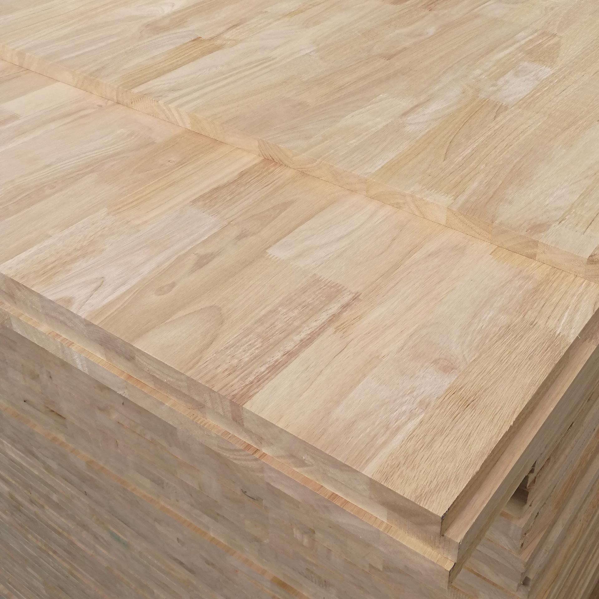 BAIYUE Ván gỗ Nhà máy trực tiếp trong nước Hải Nam cao su gỗ ngón tay bảng điều khiển Gỗ rắn tích hợ