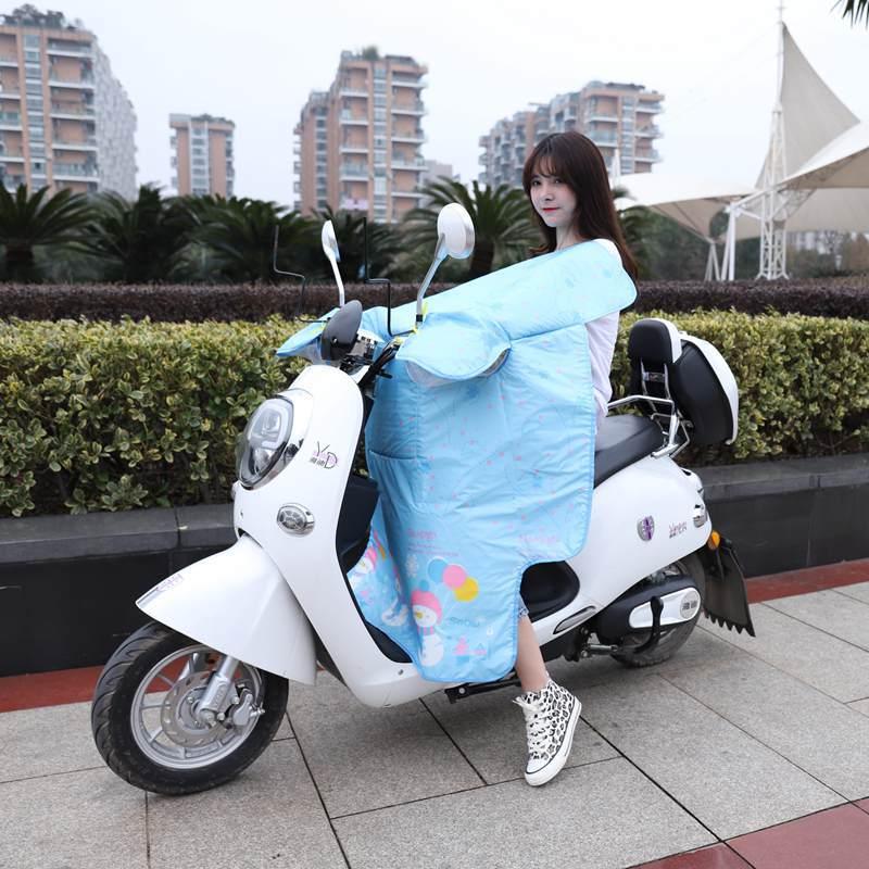 AIO Tấm chắn gió Kính chắn gió xe máy bằng pin mùa hè xe chống nắng mưa chống thấm nước ba phần mỏng