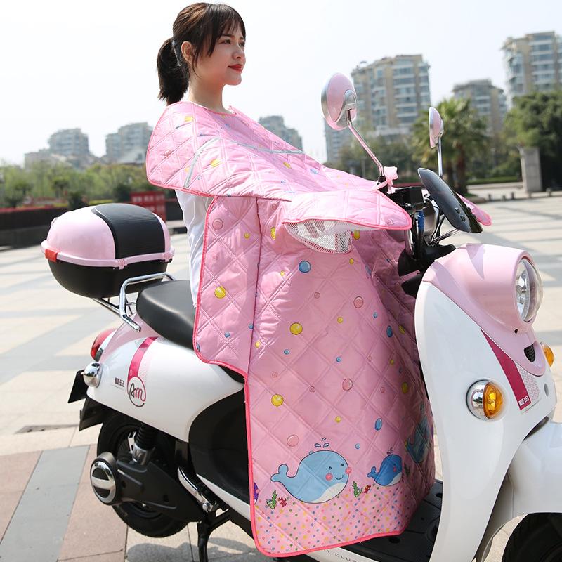 LAIYONG Tấm chắn gió Kính chắn gió mùa hè là xe điện chống nắng quần áo xe máy chống gió bằng pin ph