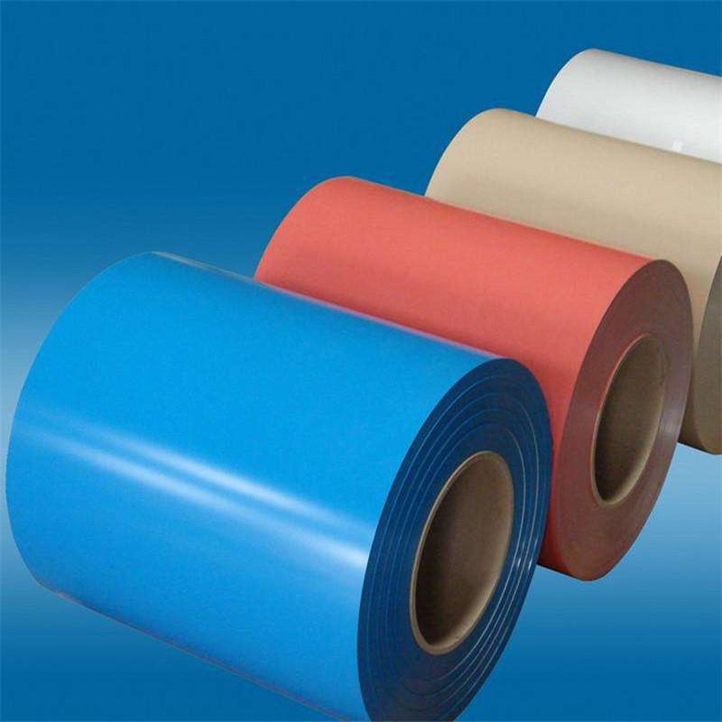 BAOSTEEL Mạ màu Thượng Hải bán hàng phủ màu sơn cuộn màu mạ kẽm mạ màu cuộn màu sơn mạ kẽm cuộn màu