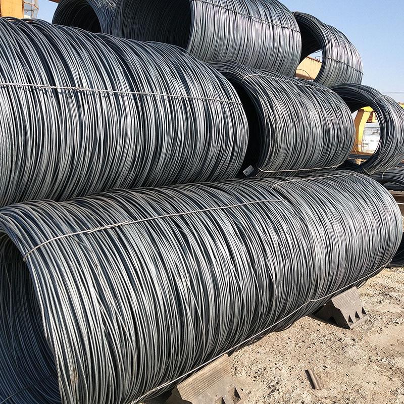 JINYE Dây cao cấp Sông thép tấm xoắn ốc bán hàng trực tiếp hrb400e sợi thép xây dựng GB hpb300 dây t