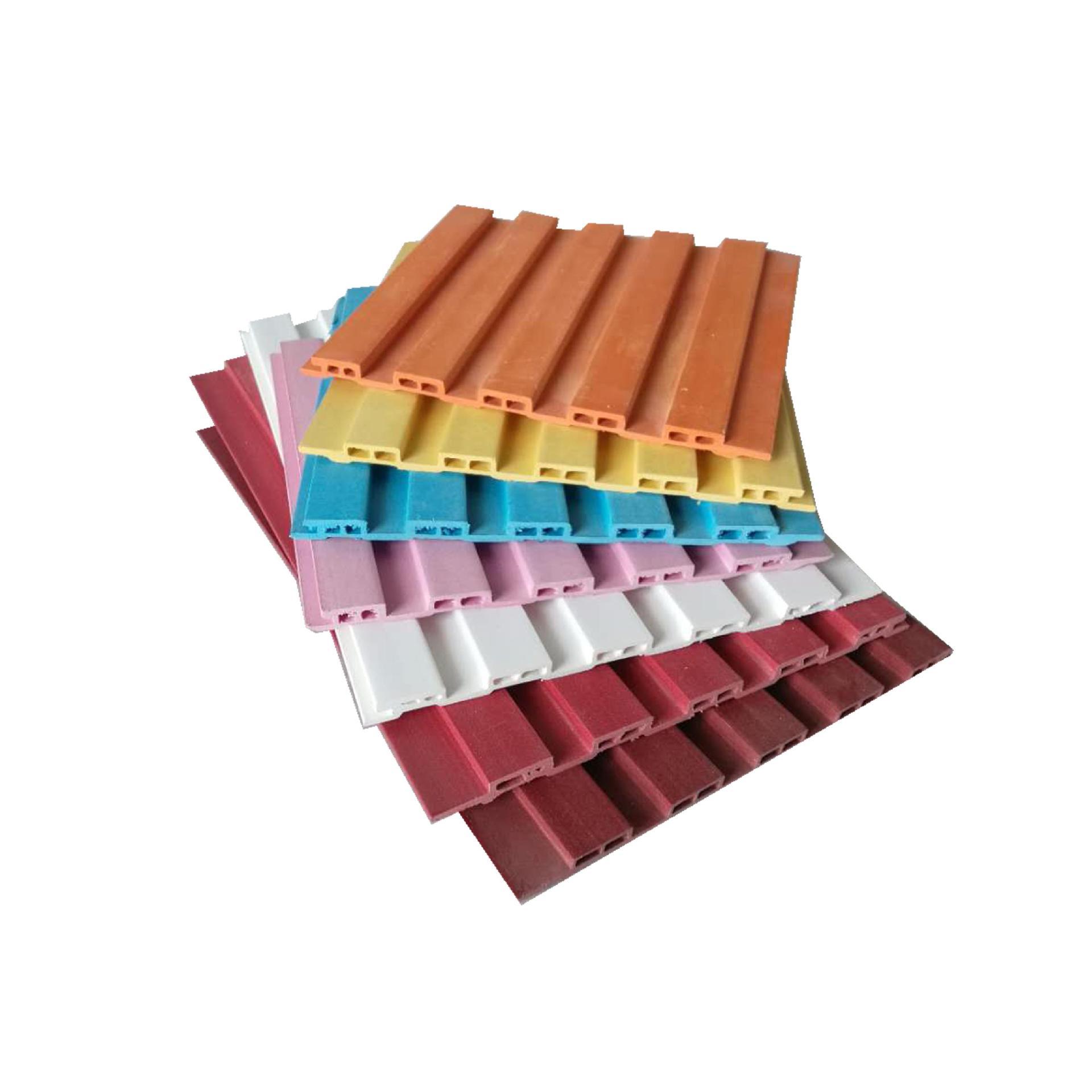 Ván trang trí Nhà máy gỗ sinh thái bán hàng trực tiếp PVC trang trí bảng màu 150 bảng nhỏ tường tích