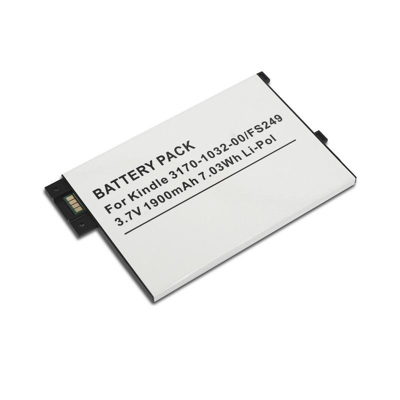 Pin điện thoại Đối với pin thay thế điện thoại Kindle 3 pin 3.7V 1900mAh 7.03Wh