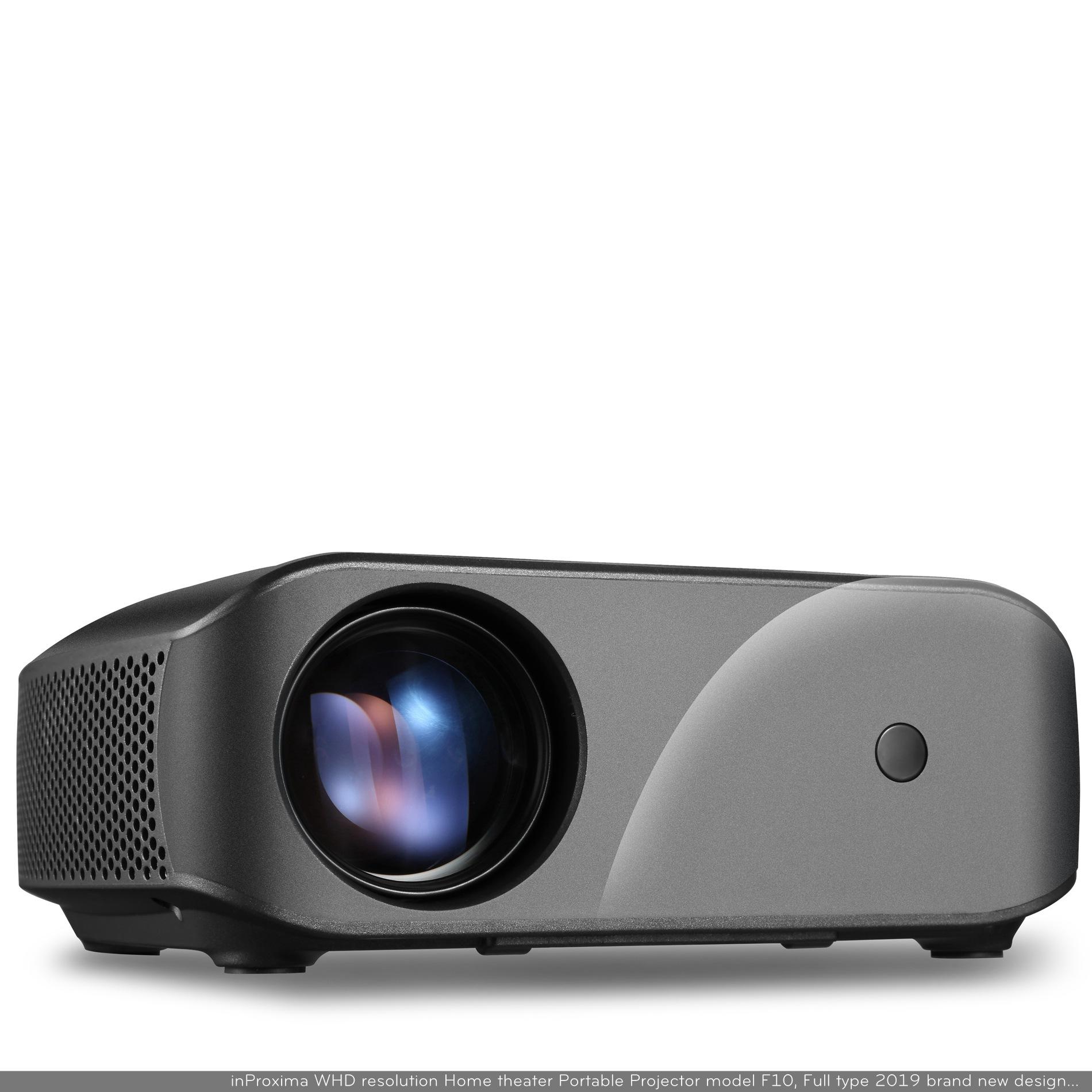 VIVIBRIGHT Máy chiếu siêu nhỏ độ phân giải cao F10 độ phân giải 1280 * 720