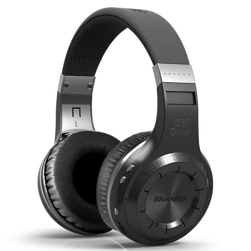 Tai nghe Bluetooth Bluedio Blue String HT 5.0 Loa siêu trầm stereo