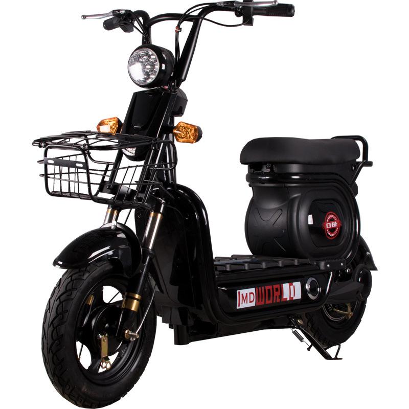 MINGDAO Nhà máy trực tiếp xe đạp điện mini mini xe máy điện 48V ắc quy xe người lớn xe hai bánhNhà m